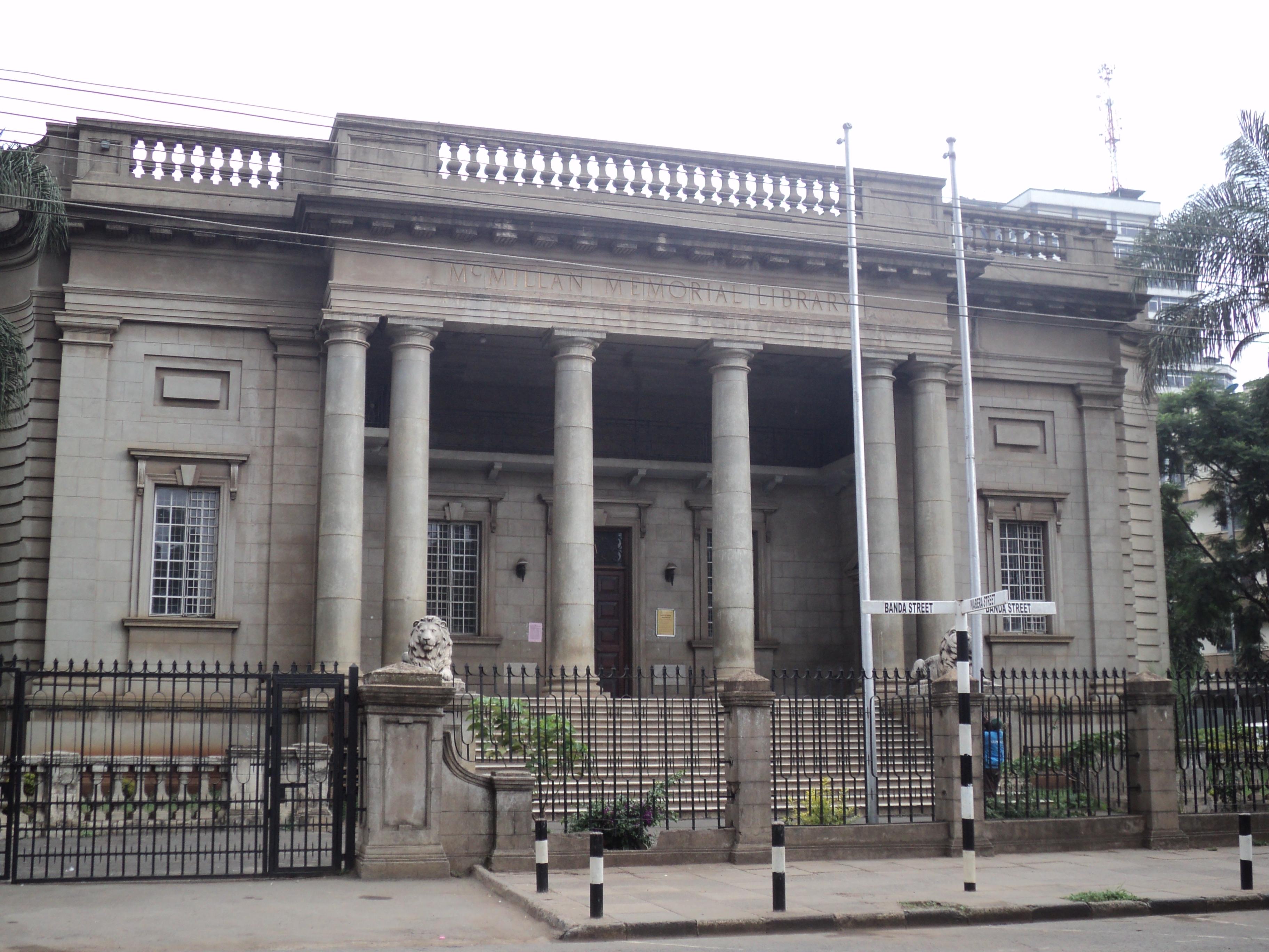 McMillan Memorial Library in Nairobi, Kenya