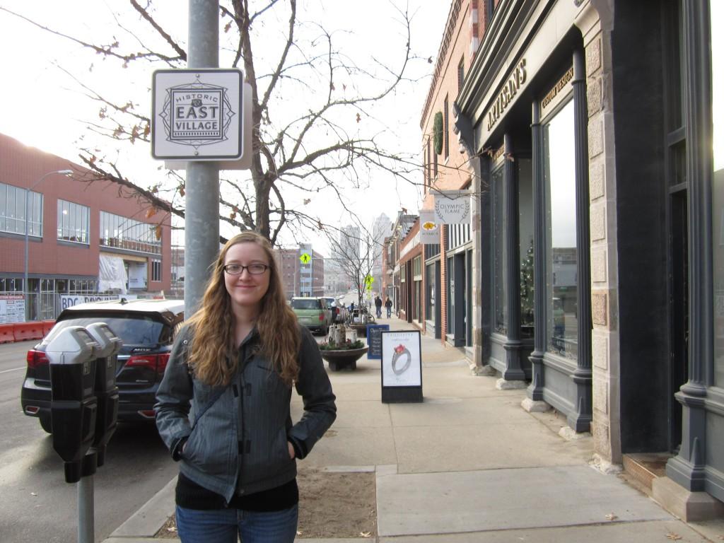 Molly Carpenter in Des Moines, Iowa