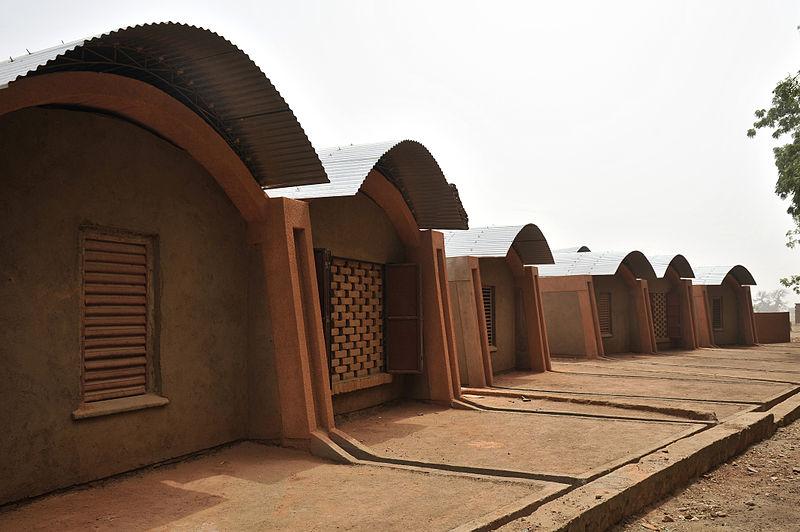 Francis Kéré Teacher's Housing in Gando, Burkina Faso