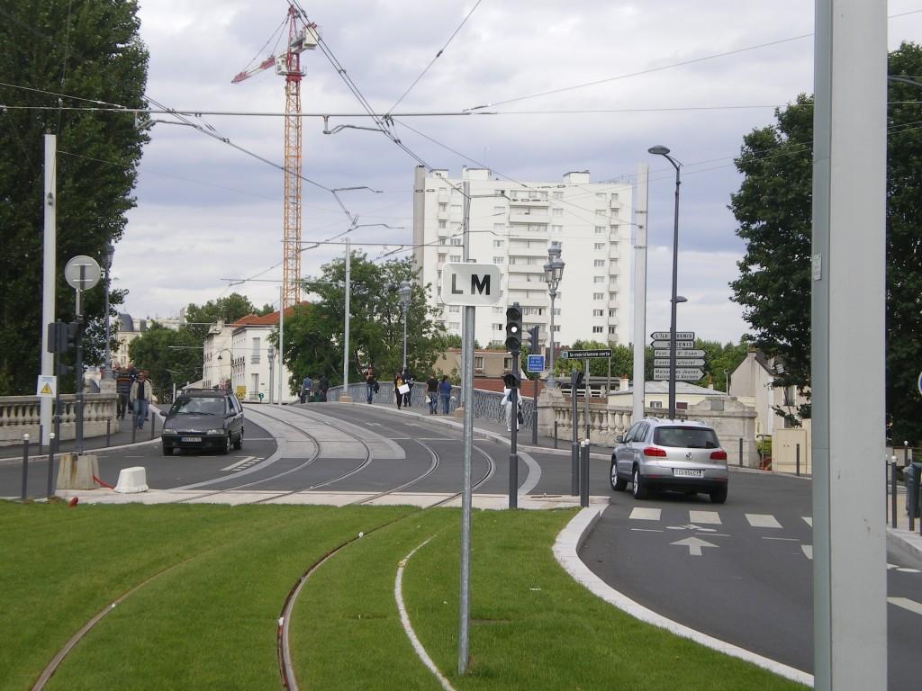 Street Construction in Caravelle à Villeneuve-la-Garenne, Paris, France
