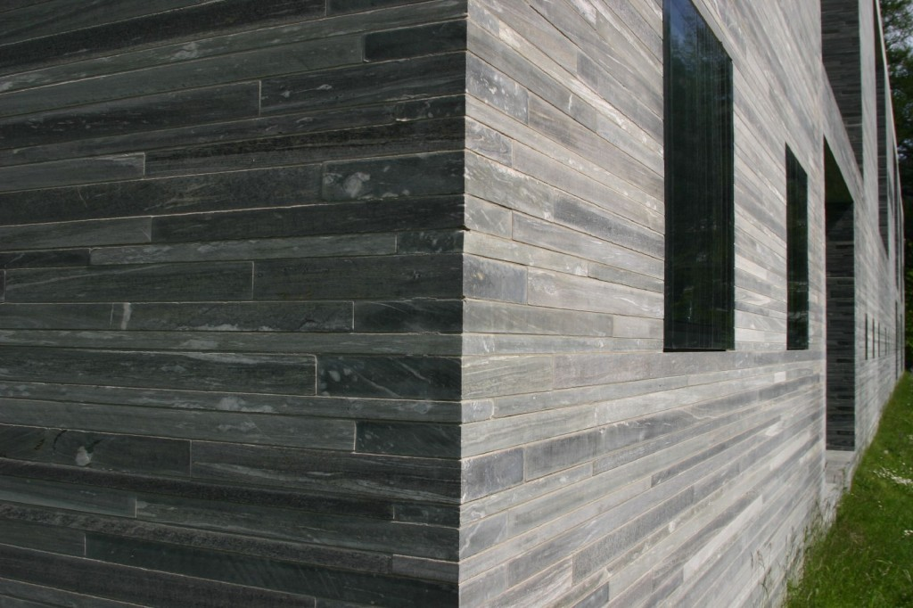 Peter Zumthor the Therme Vals material detail, Vals, Switzerland.