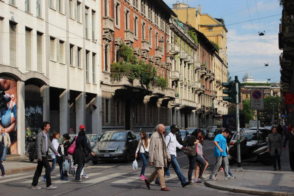 Milan, Italy during Expo 2015