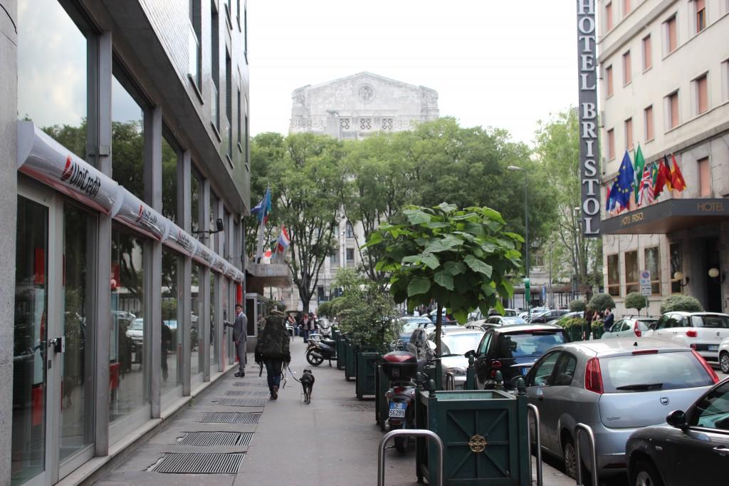 Street View Milan, Italy