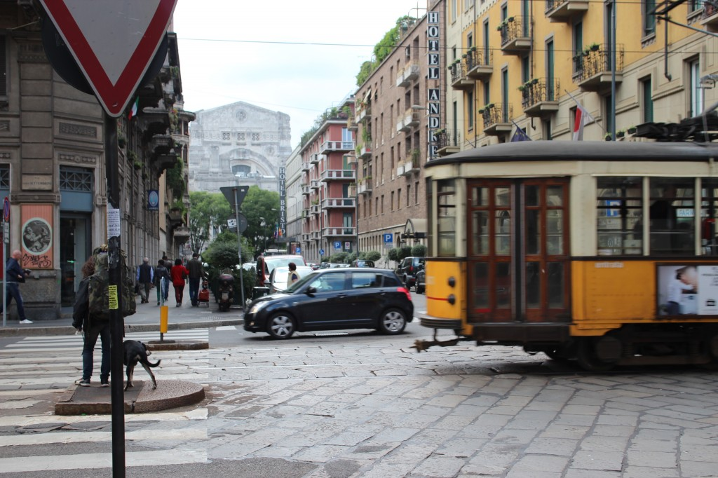 Milan, Italy in preparation for Expo 2015