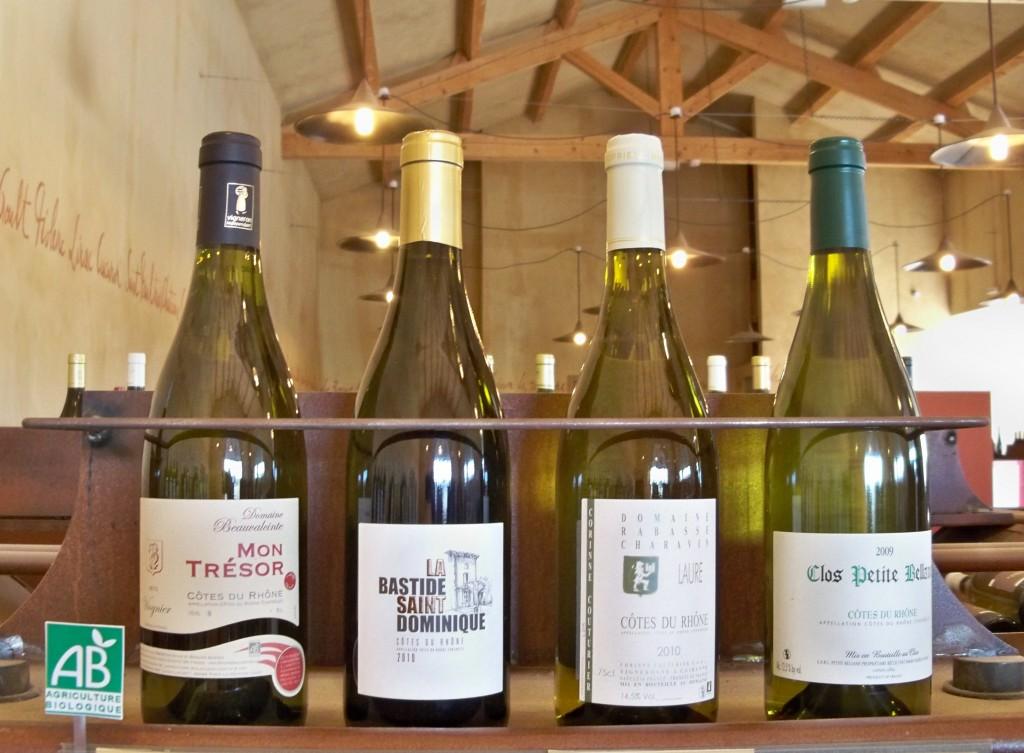 Côtes du Rhône AOC Organic Wines, France
