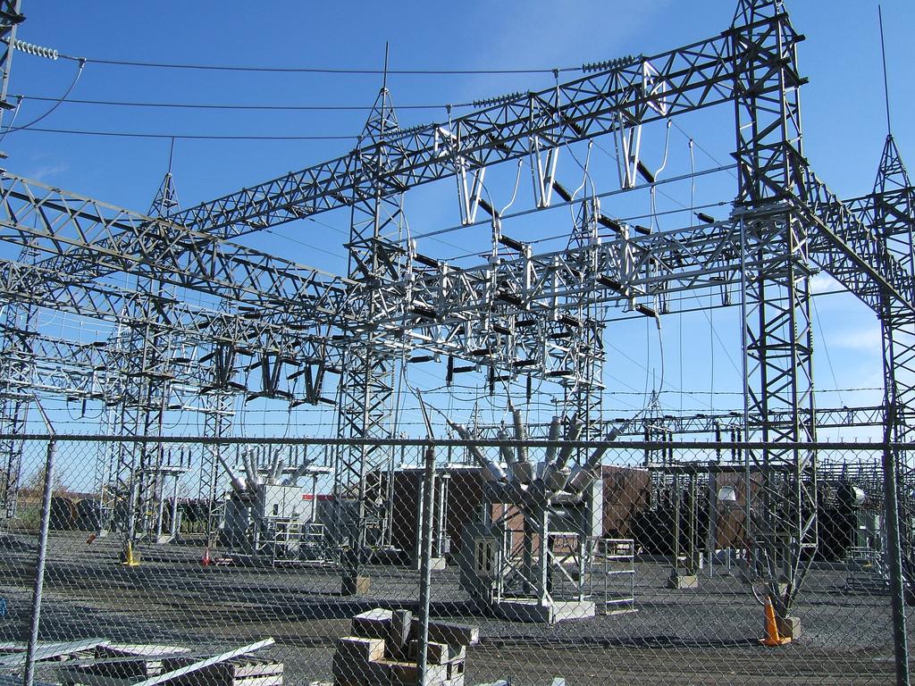 Electricity grid, Quebec, Canada