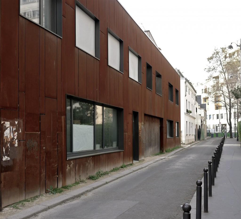Passage Frequel Wooden Bioclimatic Building, Paris, France