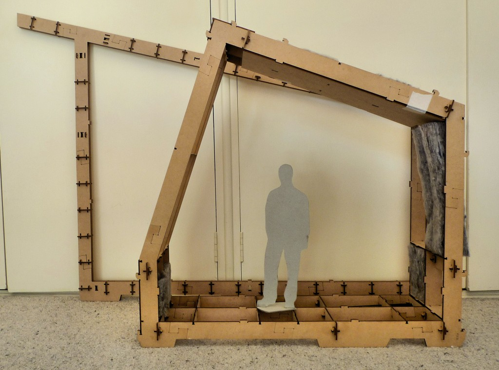 Scale Model of Wikihouse