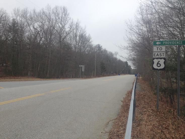 Squaw Rock Road, Plainfield, Connecticut, Route Six Onramp