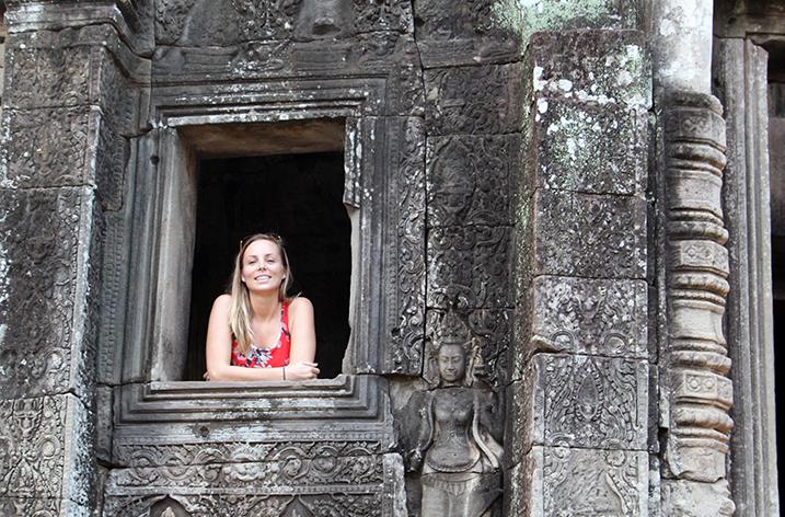 Tara Whelan in Cambodia