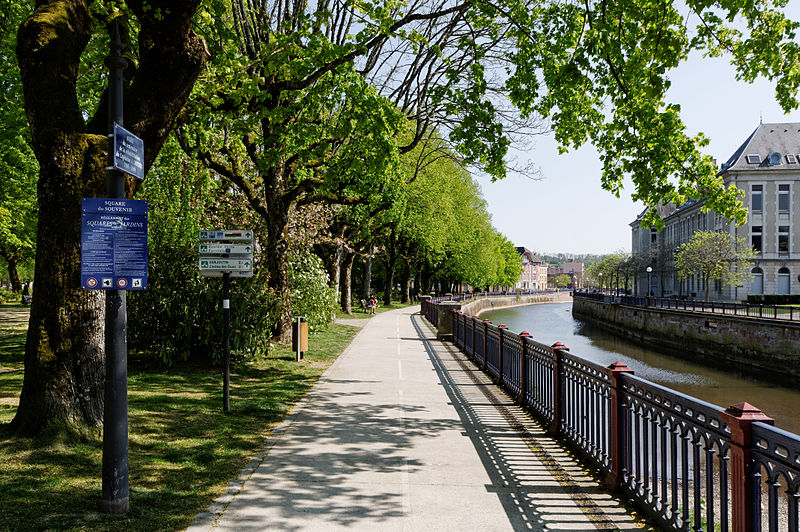 Bike Path in Belfort, France