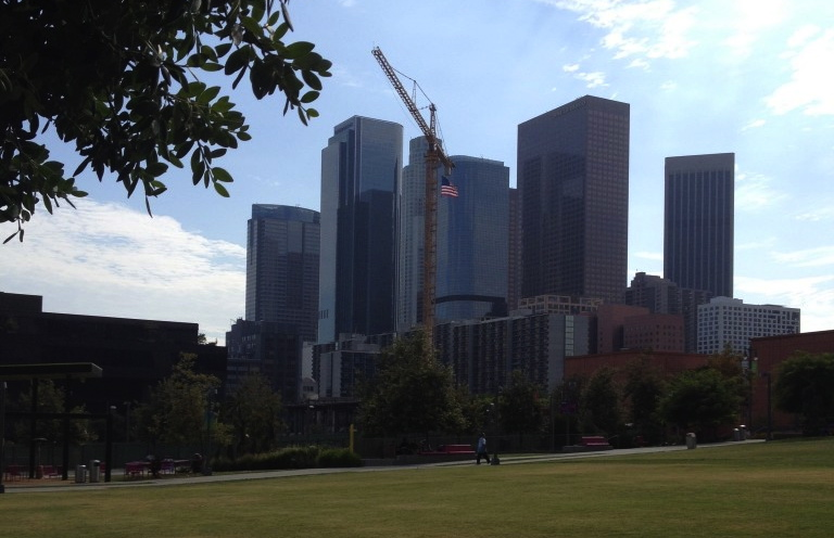 A new construction project happening in Downtown Los Angeles
