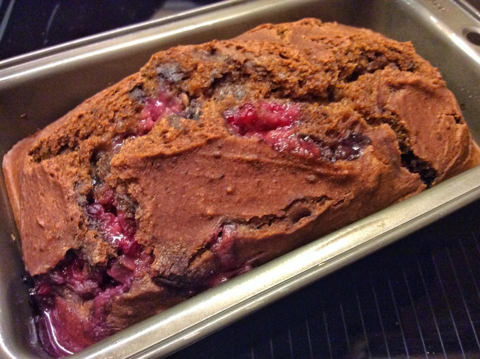 Image of wild berry bread.