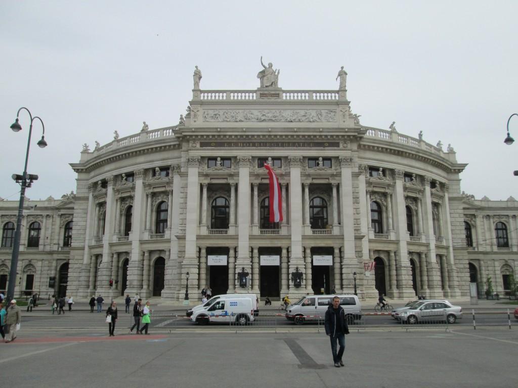 Vienna's Citizen's Theatre on the Ringstrasse, Vienna, Austria