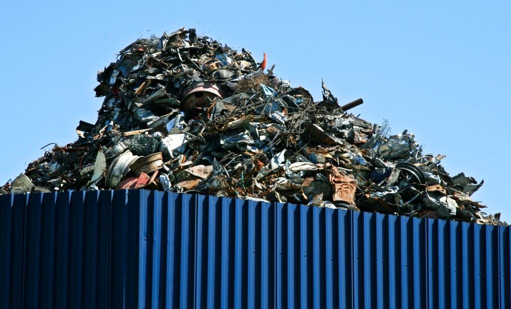 Recycling Yard, San Francisco Bay Area, California