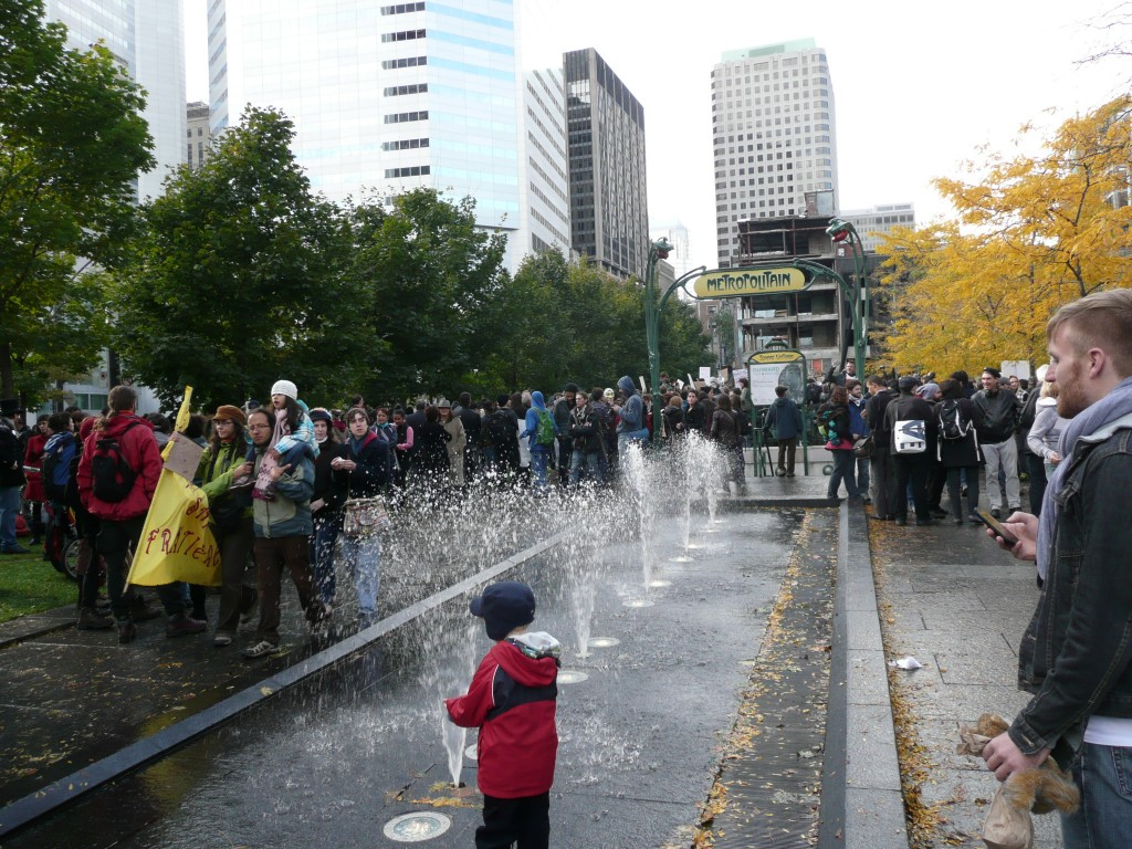Occupy Montreal, Quebec, Canada