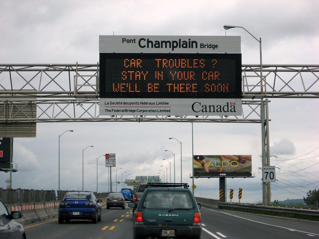 Pont Champlain Bridge, Montreal, Canada