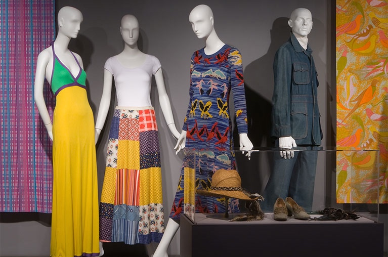 Eco Fashion: Going Green exhibition clothing by various designers, New York