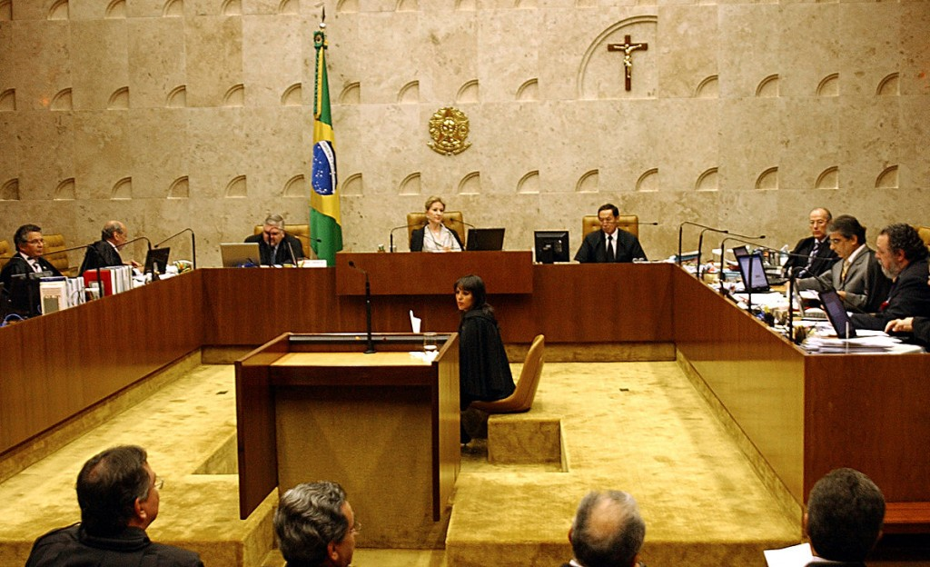 Meeting inside the Supreme Court Building, Brazil