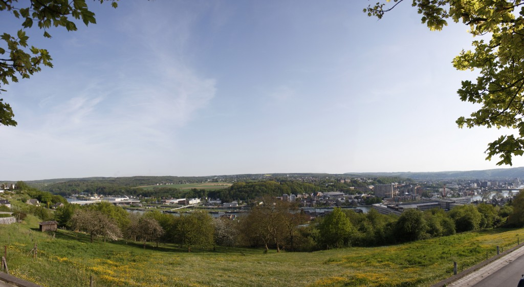 Bouges, Namur, Belgium Panoramic View