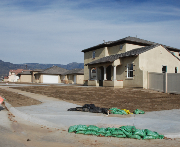 New single family house in Redlands, CA