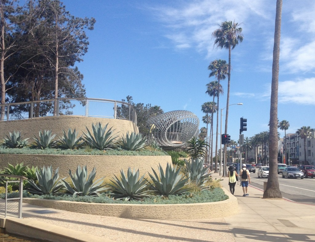 Tongva Park in Los Angeles, California