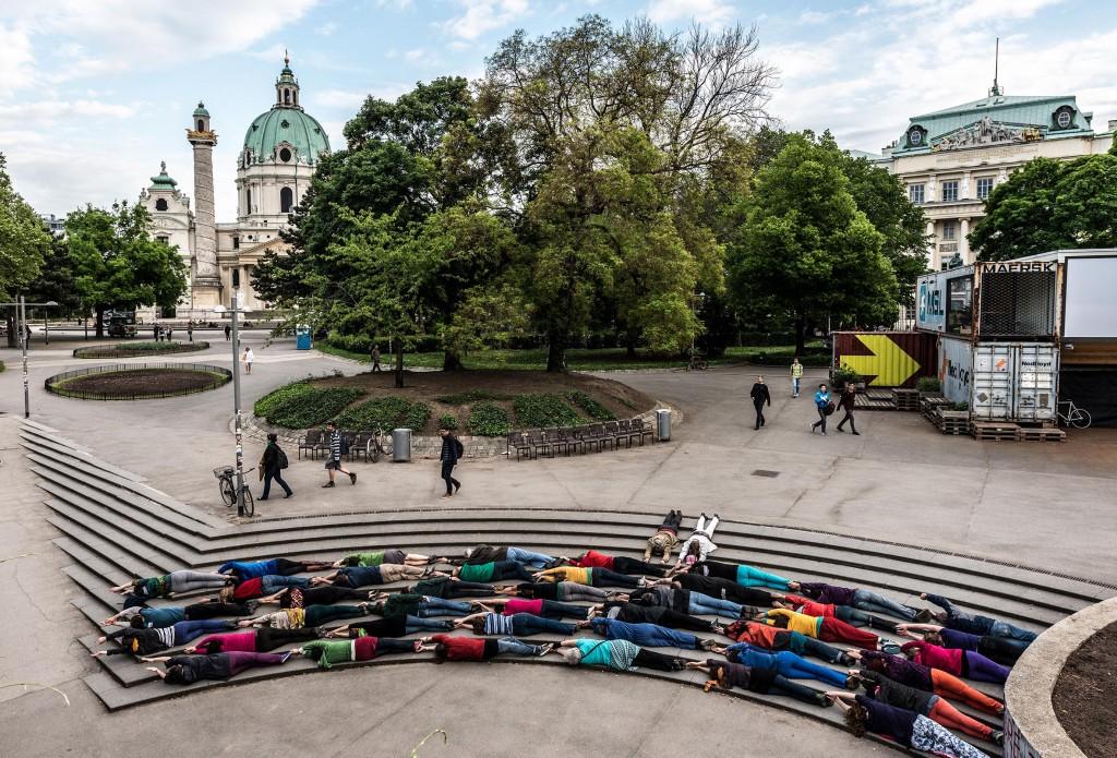 Public Art in Vienna, Austria
