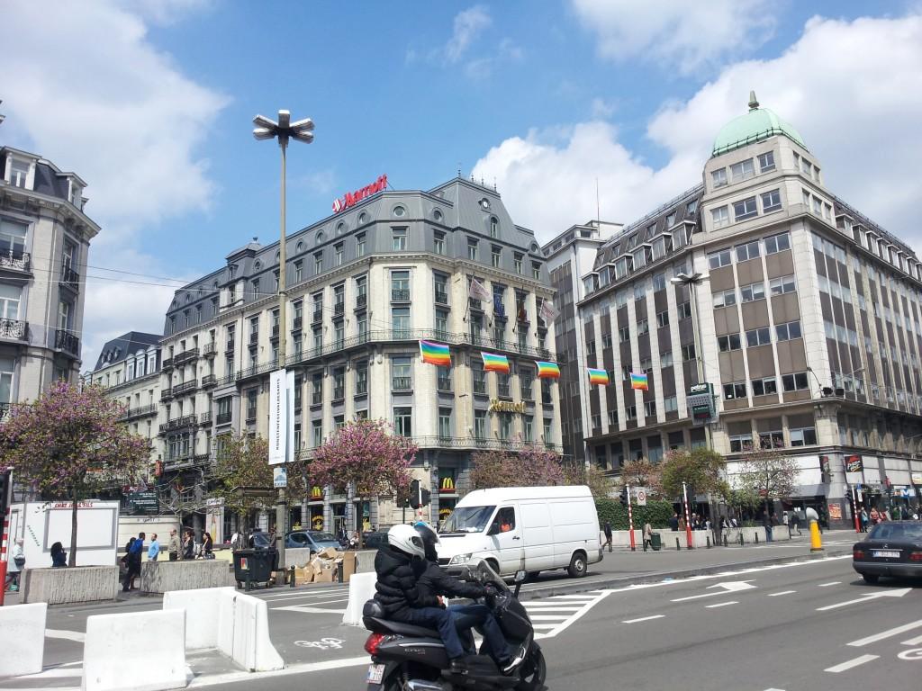 Boulevard Anspach, Bruxelles, Belgium, Brussels, Belgium