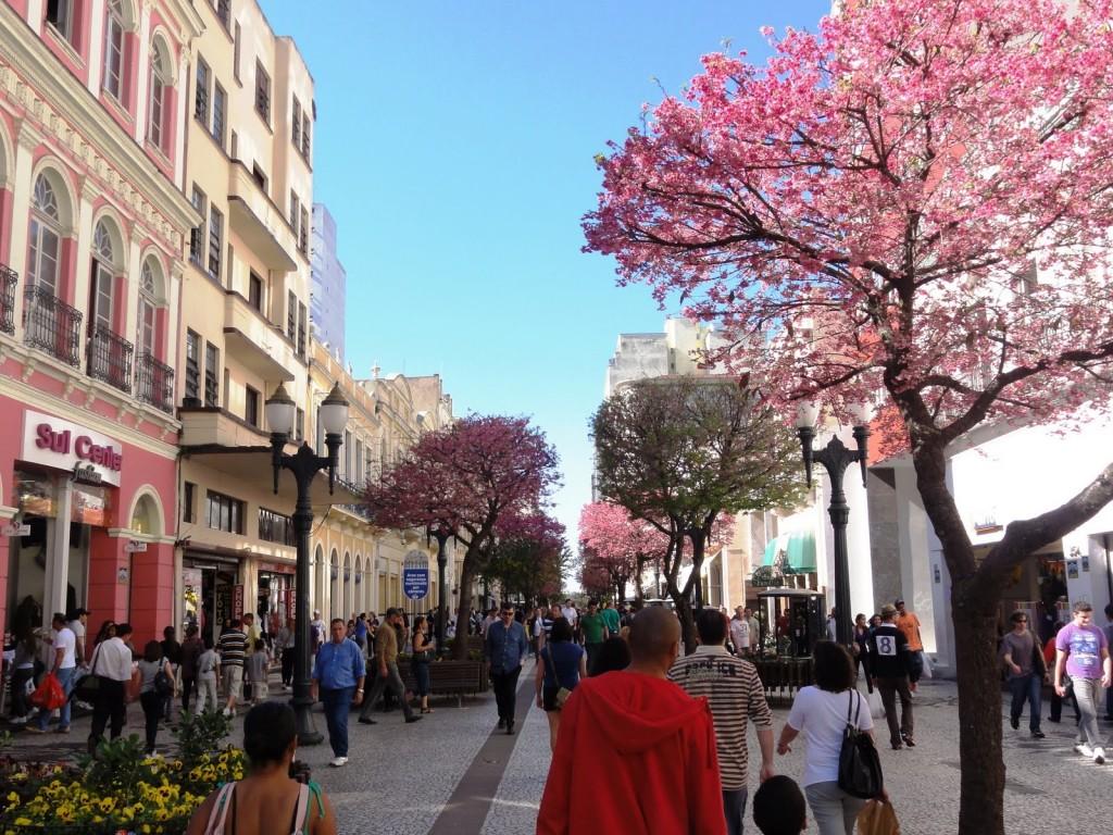 Rua das Flores, Curitiba, Brazil