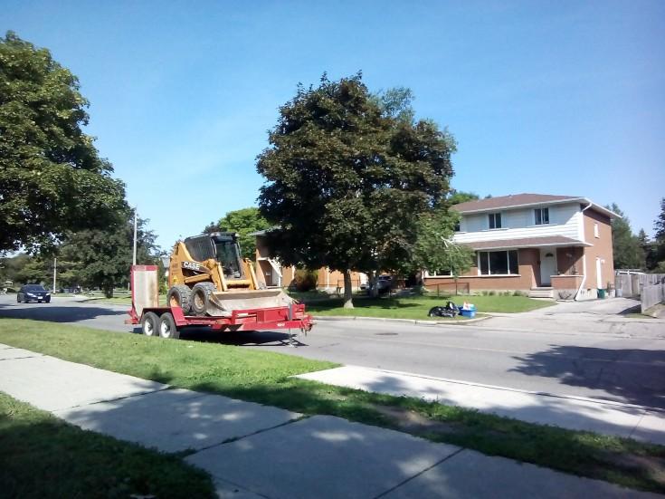 Development in Suburban Ontario, Canada