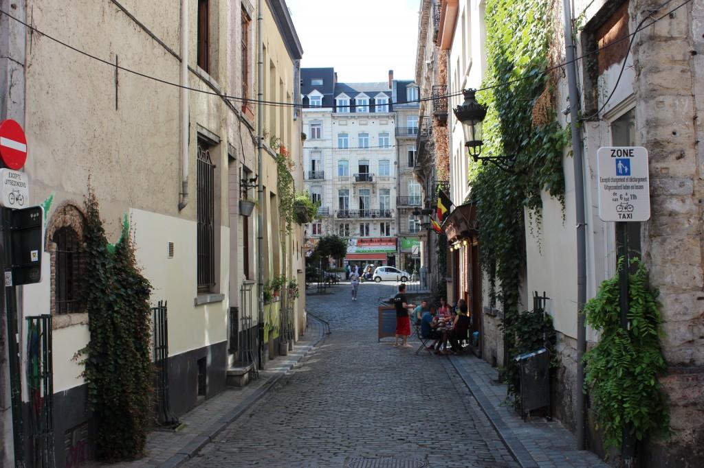 Rue du Bon Secours, Brussels, Belgium