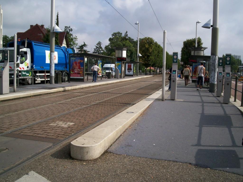 Strasbourg, France Baggersee Station