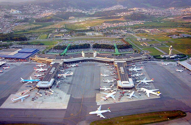 Aeroporto Internacional de São Paulo-Guarulhos, Brazil