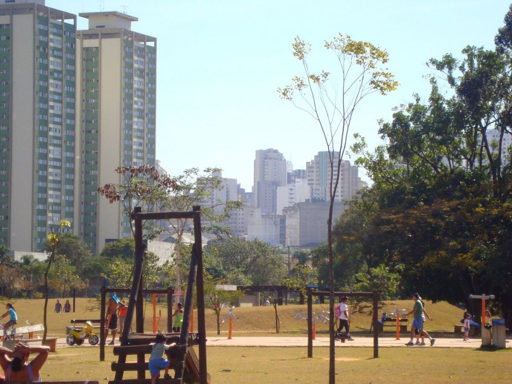 Youth park in Santana, North Zone of São Paulo, Brazil