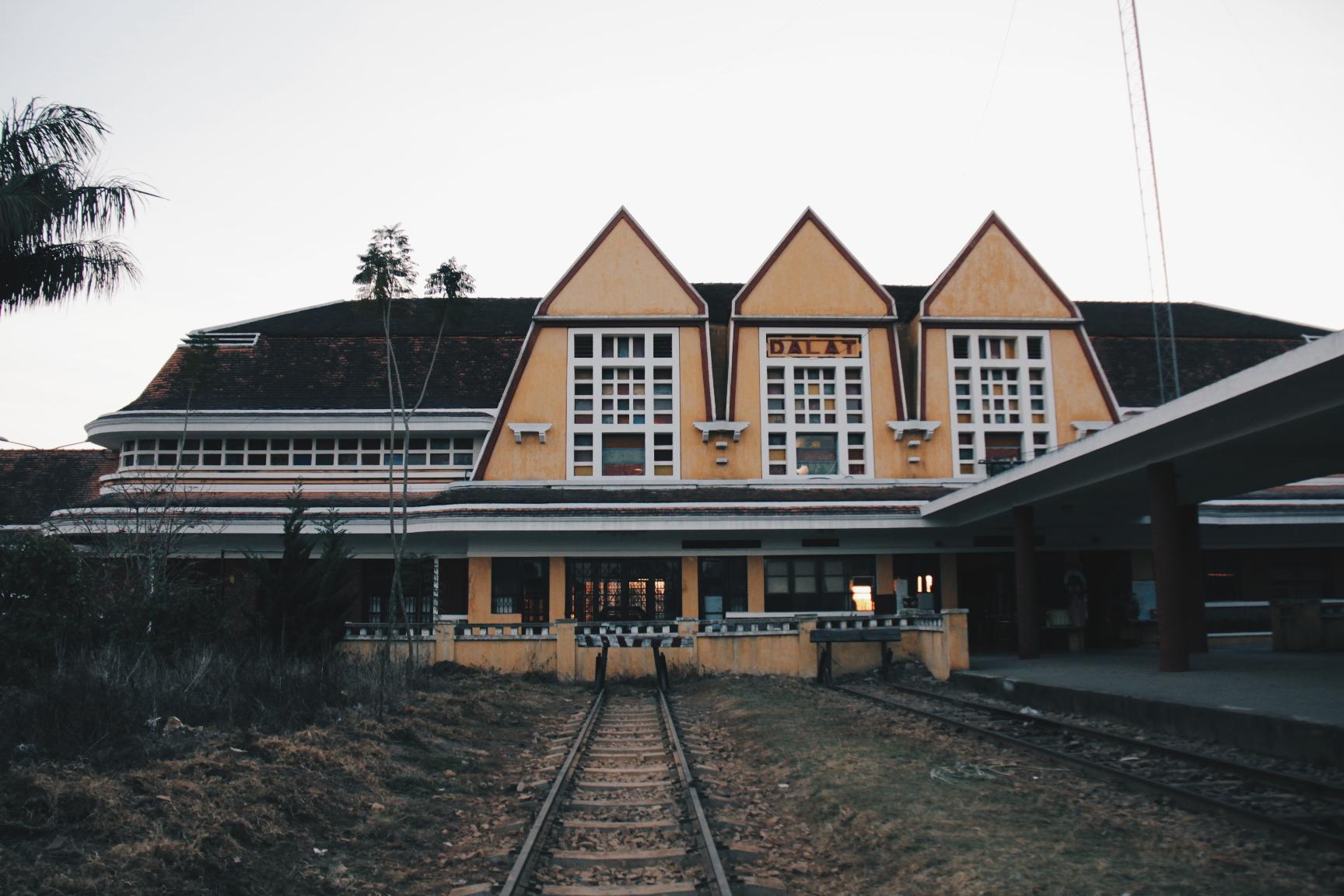Da Lat, Vietnam Railway Station.