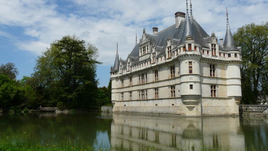 Azay-le-Rideau Chateau, Azay-le-Rideau, Tours, France