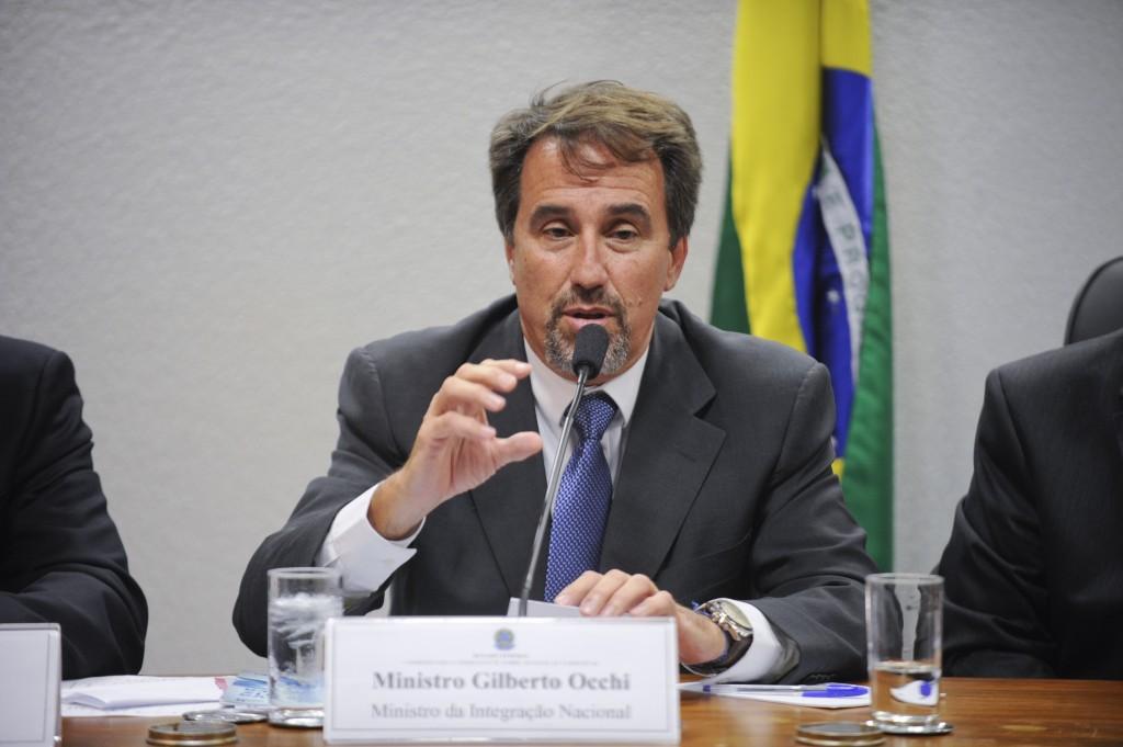 Minister of National Integration Gilberto Occhi, Brazil