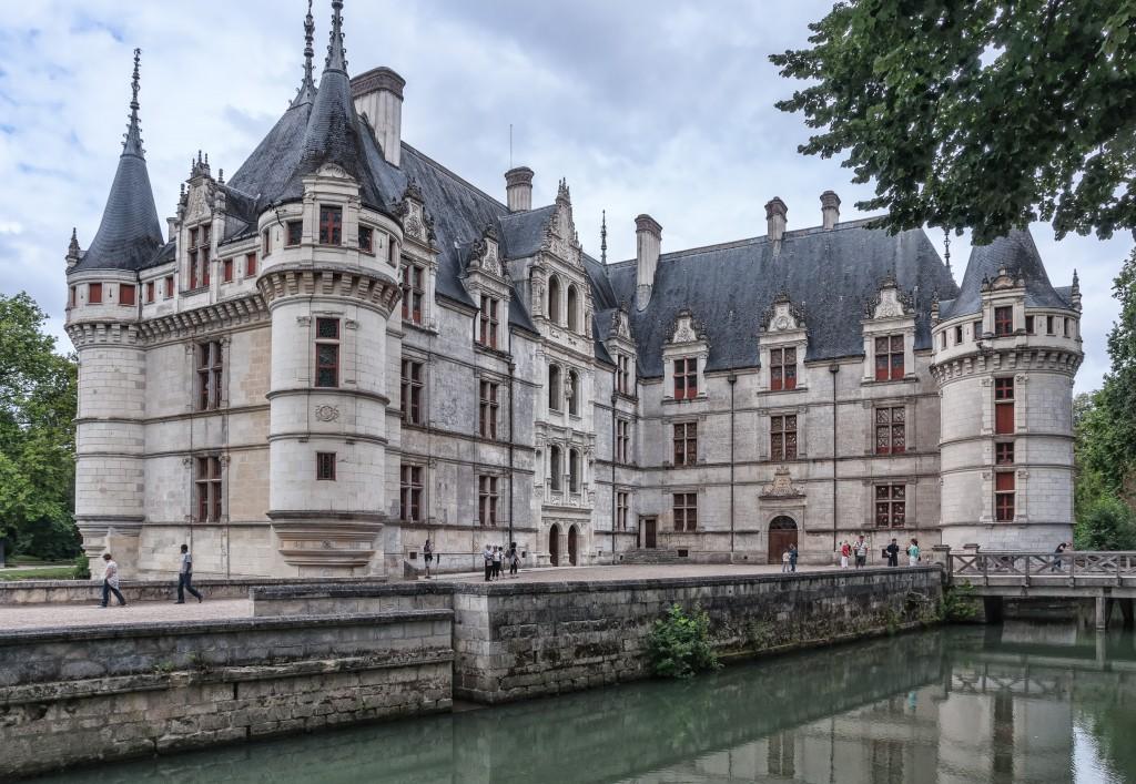 Azay-le-Rideau Chateau, Azay-le-Rideau, France