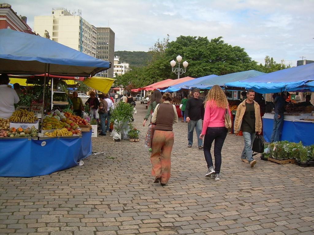 Farmers Market in Florianópolis, Brazil