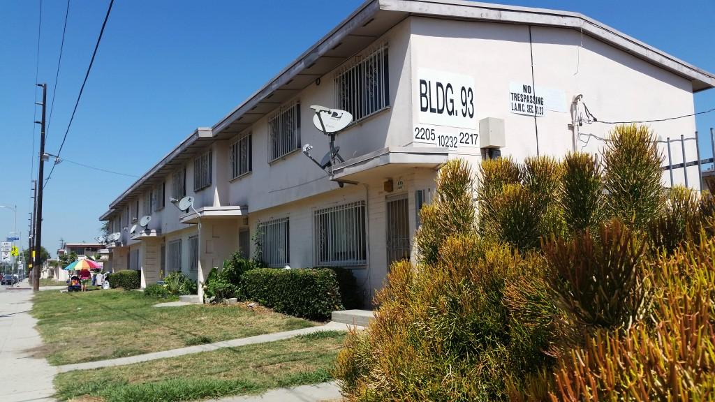 Jordan Downs Housing Project, Watts, California, Los Angeles