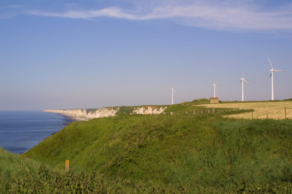 Wind Farm in Fécamp, France