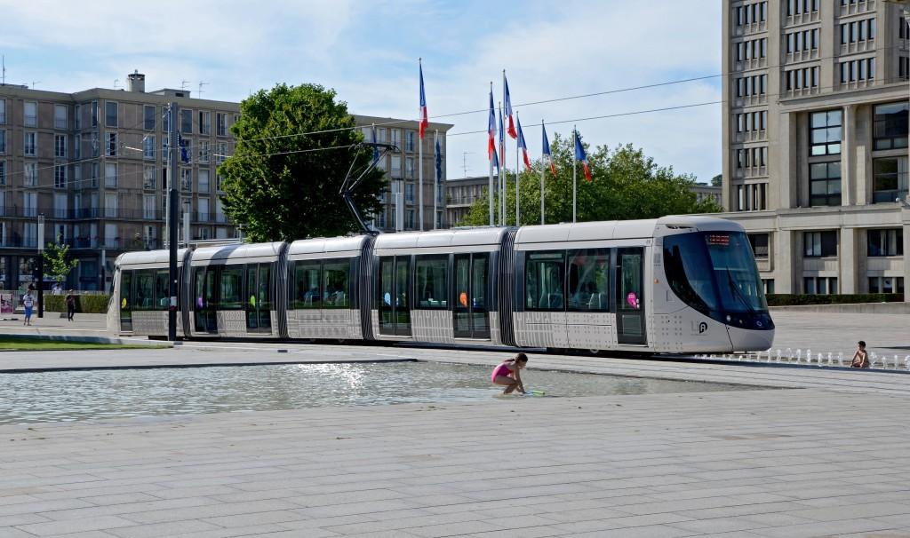 Place de l'Hotel de Ville, Le Havre, France