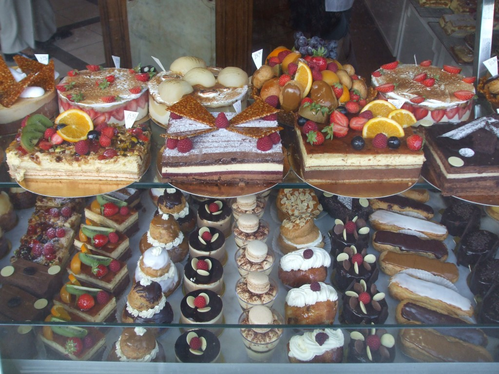Pastry shop France