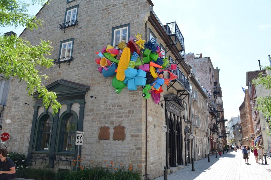 Jose Luis Torres sculpture, Quebec, Canada