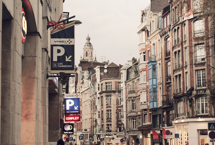 Neighborhood in Lille, France
