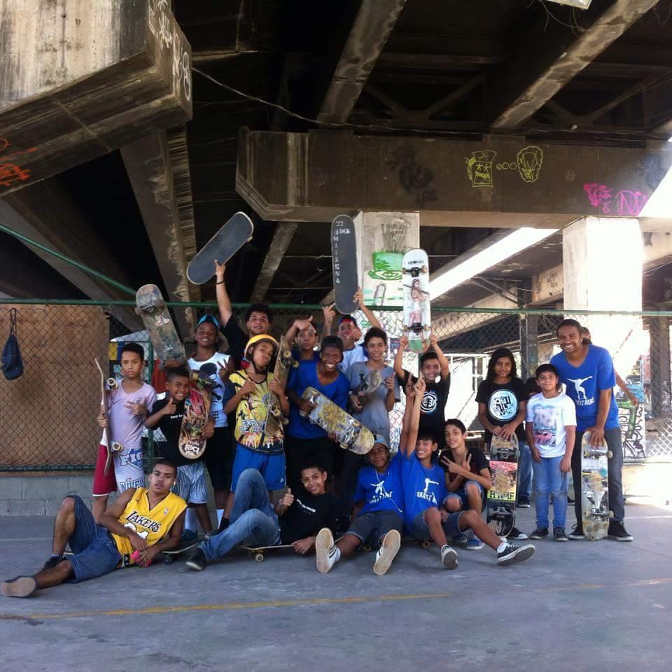 Coletivo Skate Maré, Rio de Janeiro, Brazil