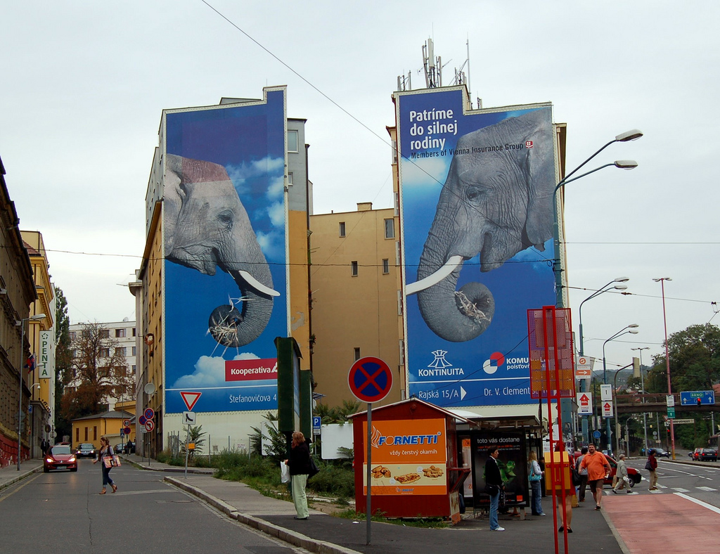Bratislava, Slovakia billboard advertising