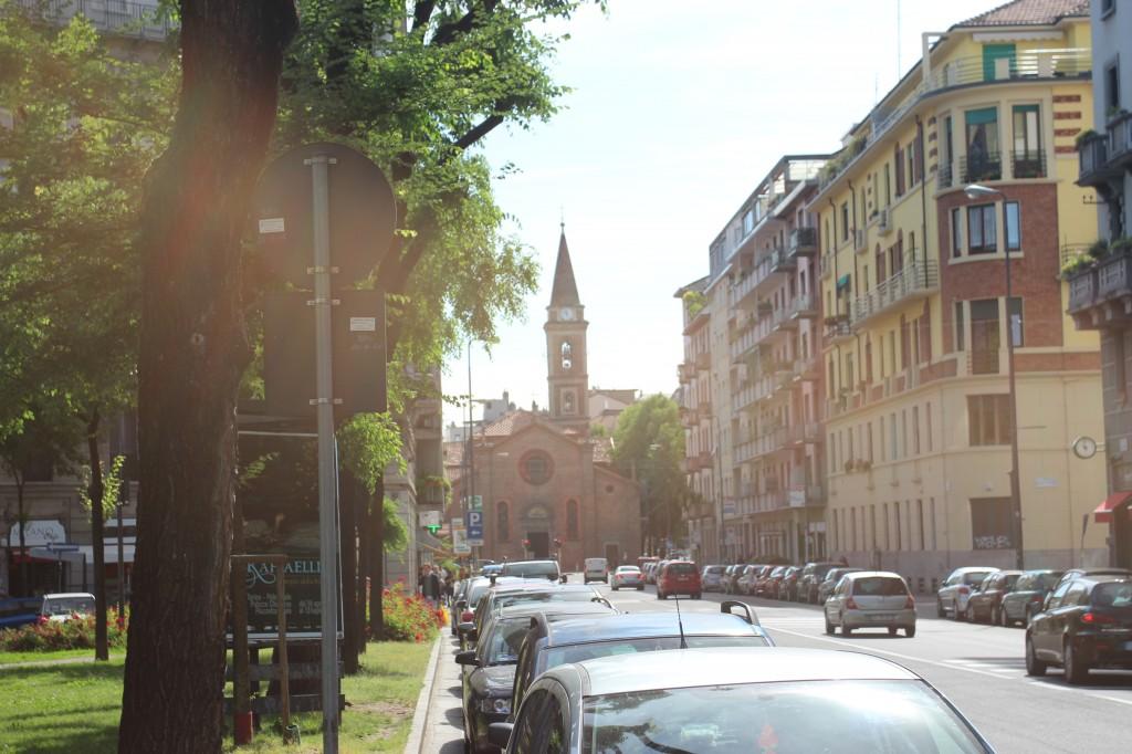 Via Andrea Cost, Milan,Italy