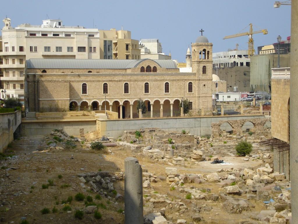 Beirut, Lebanon ruins