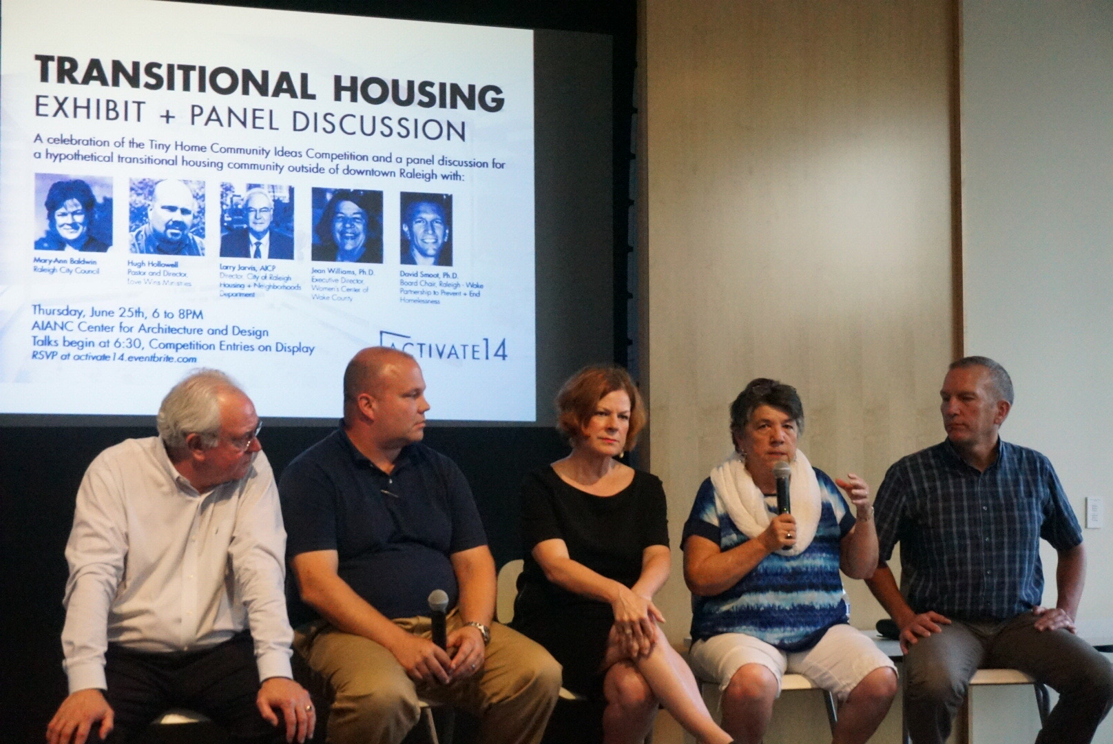 Transitional Housing Panel Discussion, Raleigh, North Carolina, United States